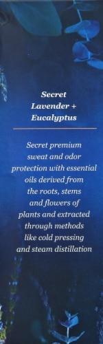 Secret No. 24 Lavender + Eucalyptus Invisible Solid Antiperspirant Perspective: right