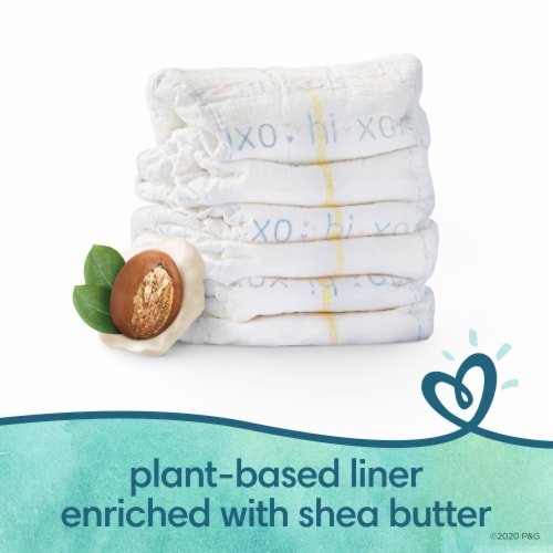 Pampers Pure Protection Size 5 Baby Diapers Perspective: right