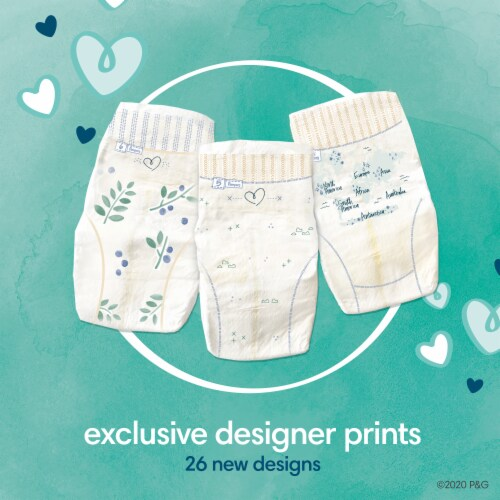 Pampers Pure Protection Size 6 Baby Diapers Perspective: right