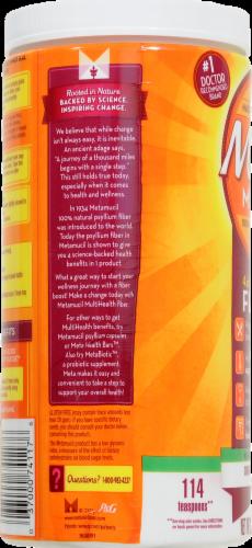 Metamucil 4-in-1 Psyllium Fiber Supplement No Added Sweeteners Unflavored Coarse Texture Powder Perspective: right