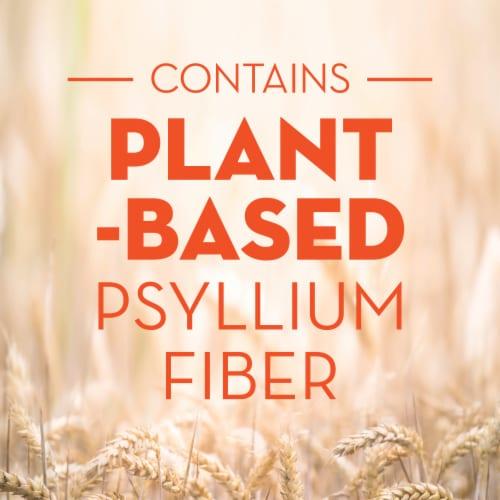 Metamucil Orange Smooth Fiber Supplement Powder Perspective: right