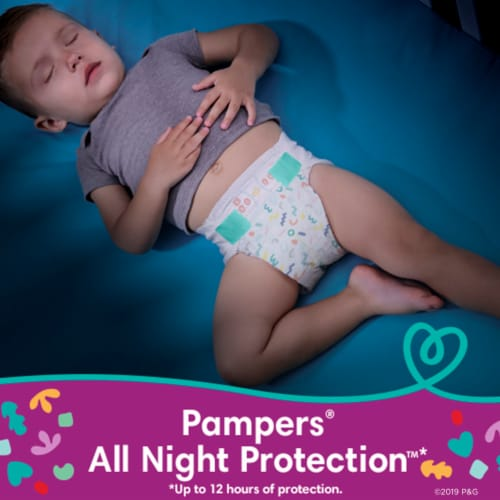 Pampers Cruisers Size 4 Diapers Perspective: right