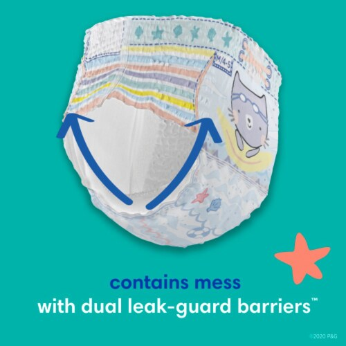 Pampers Splashers Medium Disposable Swim Pants Perspective: right