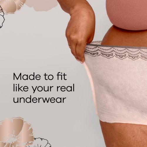 Always Discreet Boutique Small Medium Maximum Incontinence Underwear Perspective: right