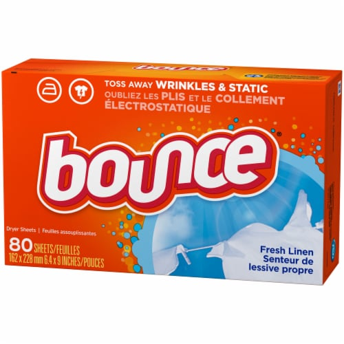 Bounce Fresh Linen Dryer Sheets Perspective: right