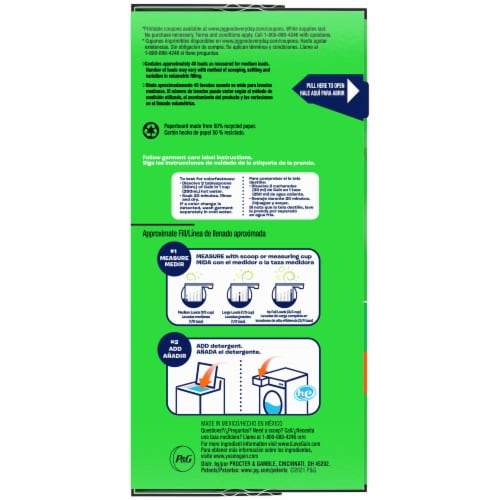 Gain Ultra Original High Efficiency Powder Laundry Detergent Perspective: right