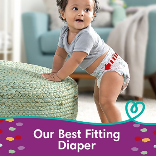 Pampers Cruisers 360 Fit Size 5 Baby Diapers Perspective: right
