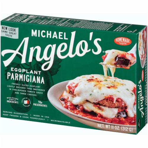 Michael Angelo's Eggplant Parmigiana Perspective: right