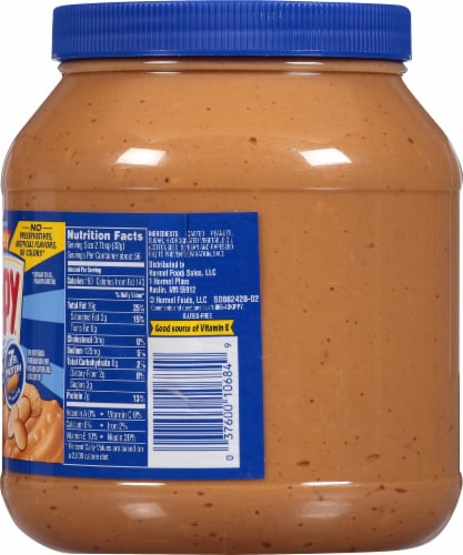 Skippy Super Chunk Extra Crunchy Peanut Butter Perspective: right