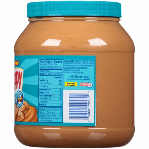 Skippy Creamy Peanut Butter Perspective: right