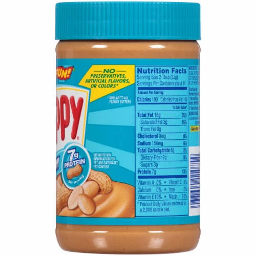 Skippy® Creamy Peanut Butter Perspective: right