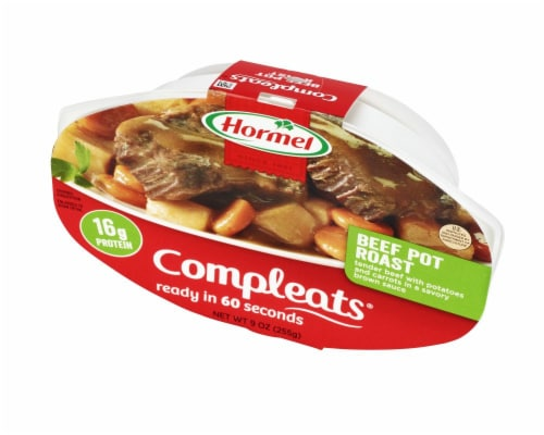 Hormel Compleats Beef Pot Roast Perspective: right