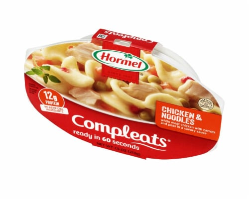 Hormel Compleats Noodles & Chicken Perspective: right