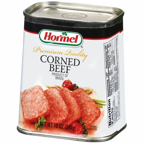 Hormel Corned Beef Perspective: right