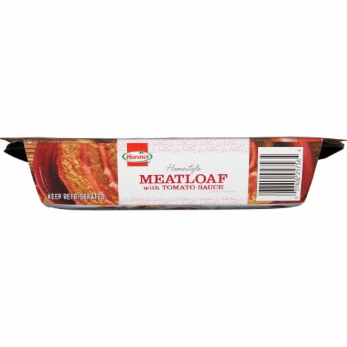 Hormel Homestyle Meatloaf with Tomato Sauce Perspective: right