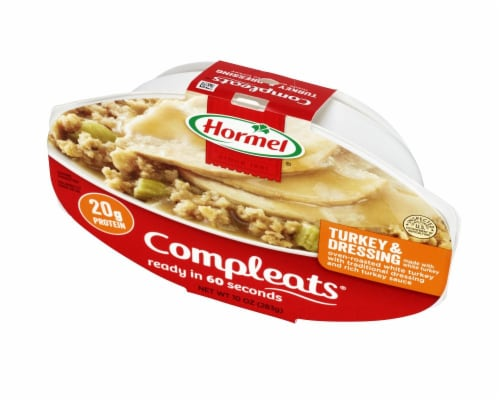 Hormel Compleats Turkey & Dressing Meal Perspective: right