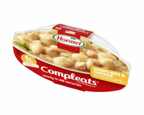 Hormel Compleats Comfort Classics Dumplings & Chicken Perspective: right