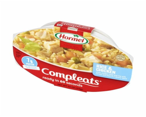 Hormel Compleats Comfort Classics Rice & Chicken Perspective: right