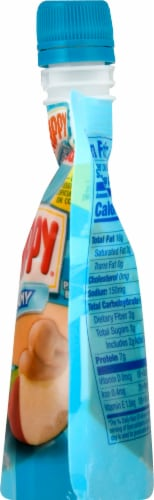 Skippy Creamy Peanut Butter Squeeze Pouch Perspective: right