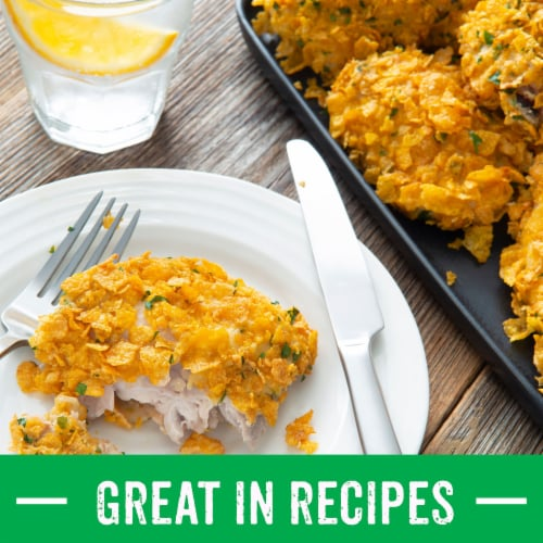 Kellogg's Corn Flakes Breakfast Cereal Original Perspective: right