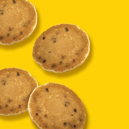 Kellogg's Eggo Frozen Breakfast Pancake Bites Chocolatey Chip Perspective: right
