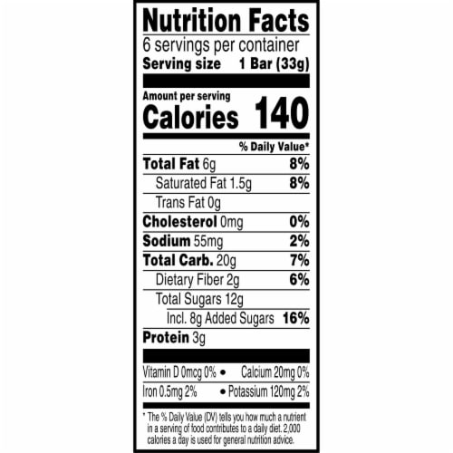 Kellogg's Special K Chewy Nut Bars Gluten Free Cranberry Almond Perspective: right
