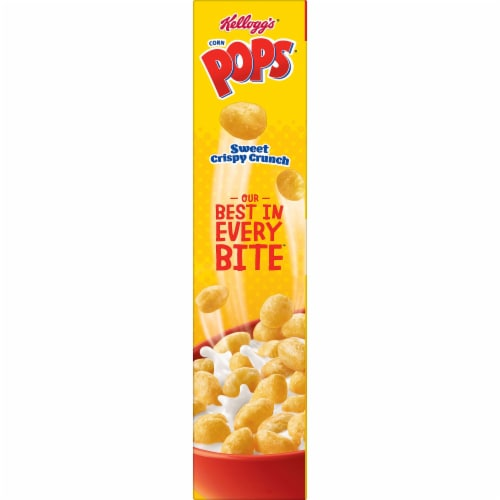 Kellogg's Corn Pops Cereal Perspective: right