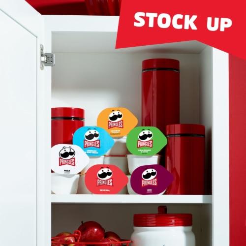 Pringles Snack Stacks Potato Crisps Chips Variety Pack Perspective: right