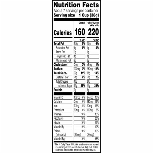 Kellogg's Corn Pops Breakfast Cereal Chocolate Peanut Butter Perspective: right
