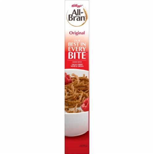 Kellogg's All-Bran Breakfast Cereal Original Perspective: right