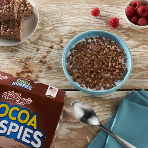 Kellogg's Cocoa Krispies Breakfast Cereal Perspective: right