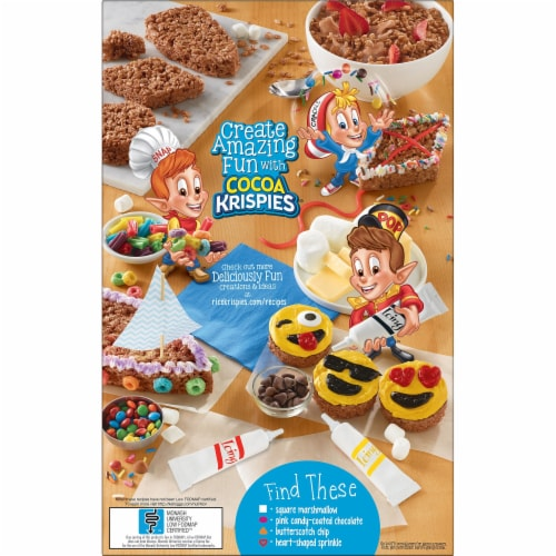 Cocoa Krispies Cereal Perspective: right