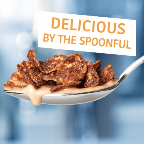 Kellogg's Frosted Flakes Breakfast Cereal Chocolate Perspective: right