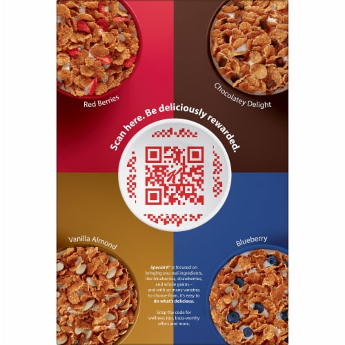 Kellogg's Special K Protein Cinnamon Brown Sugar Crunch Breakfast Cereal Perspective: right