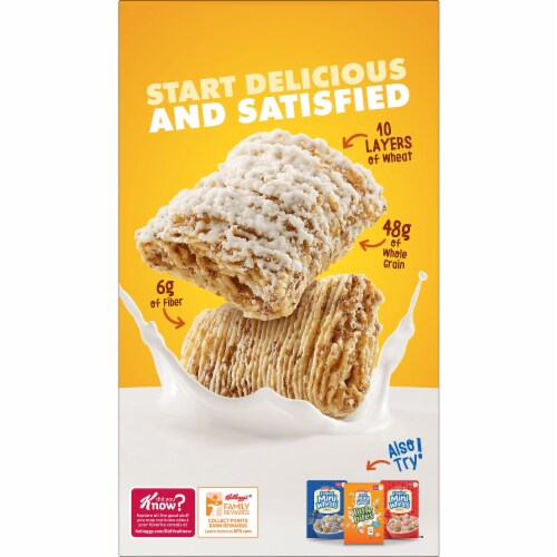 Frosted Mini-Wheats Original Whole Grain Cereal Giant Size Perspective: right