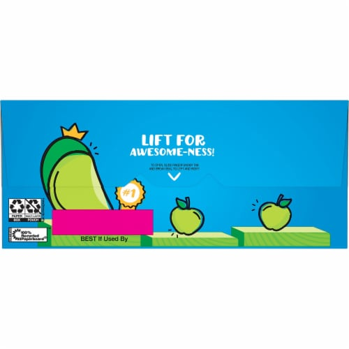 Nutri-Grain Kids Awesome Apple Soft Baked Mini Bars Perspective: right