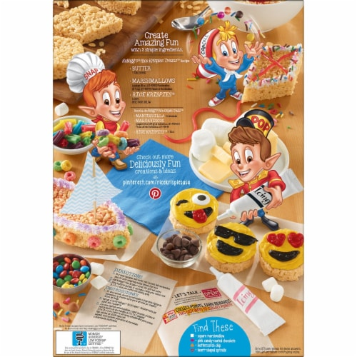 Rice Krispies Cereal Perspective: right