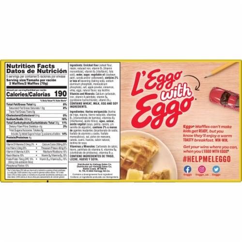 Eggo Apple Cinnamon Waffles Perspective: right