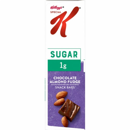 Special K Chocolate Almond Fudge Snack Bars Perspective: right
