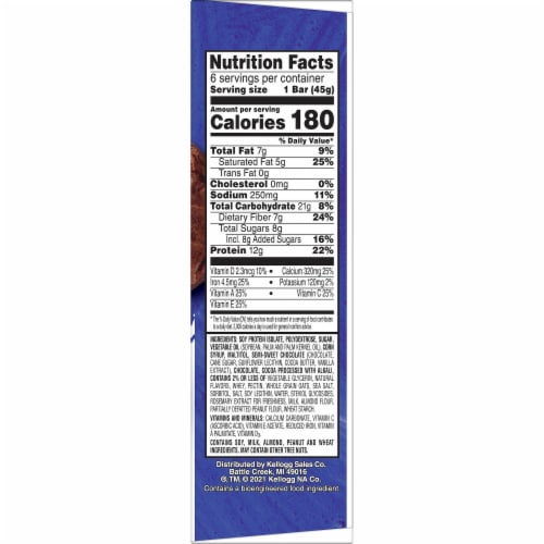 Kellogg's Special K Protein Meal Bars Double Chocolate Perspective: right