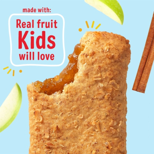 Kellogg's Nutri-Grain Soft Baked Breakfast Bars Apple Cinnamon Value Pack Perspective: right