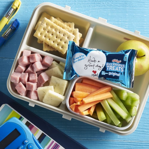 Kellogg's Rice Krispies Treats Marshmallow Squares Original Value Pack Perspective: right