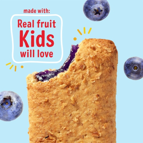 Kellogg's Nutri-Grain Soft Baked Breakfast Bars Blueberry Perspective: right