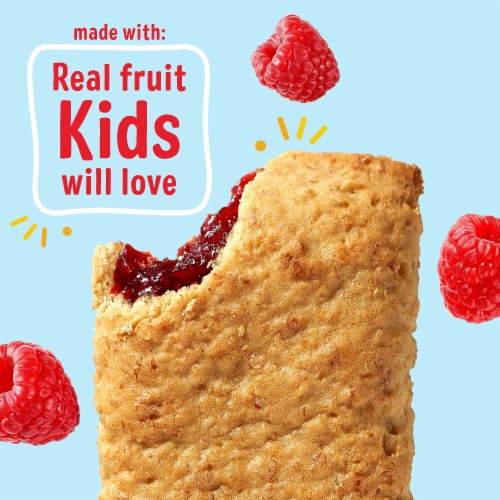 Kellogg's® Nutri-Grain® Raspberry Soft Baked Breakfast Bars Perspective: right