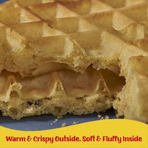 Kellogg's Eggo Frozen Breakfast Waffles Homestyle Perspective: right