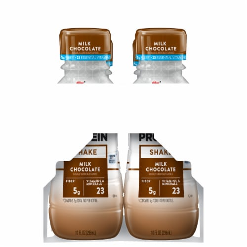 Special K Milk Chocolate Protein Shakes Perspective: right