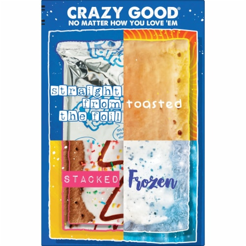 Kellogg's Pop-Tarts Breakfast Toaster Pastries Frosted Hot Fudge Sundae Perspective: right
