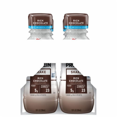 Kellogg's Special K Rich Chocolate Protein Shakes Perspective: right