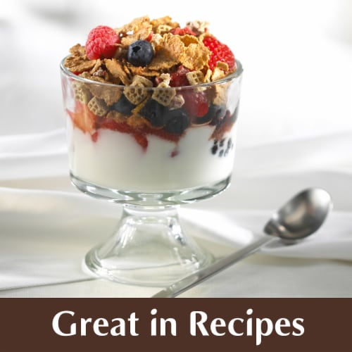 Kellogg's All Bran Complete Wheat Flakes Breakfast Cereal Perspective: right