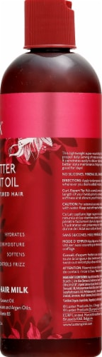Luster's Pink Shea Butter Coconut Oil Moisturizing Hair Milk Perspective: right